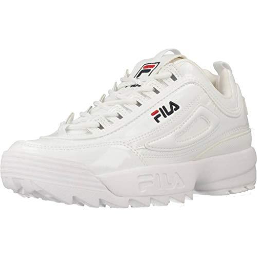 FILA Damen Wmn Disruptor Low Sneaker, Weiß (White 1010746-1fg), 39 EU