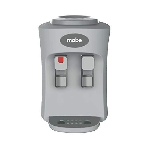 Mabe Emm2Ps Dispensador de Agua de Mesa con 2 Llaves, Silver