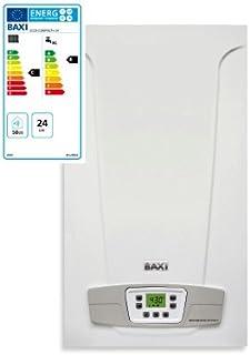 Baxi Eco5 Compact+ - Caldera de gas, 24 kW, ErP, cámara abierta, alimentación a metano