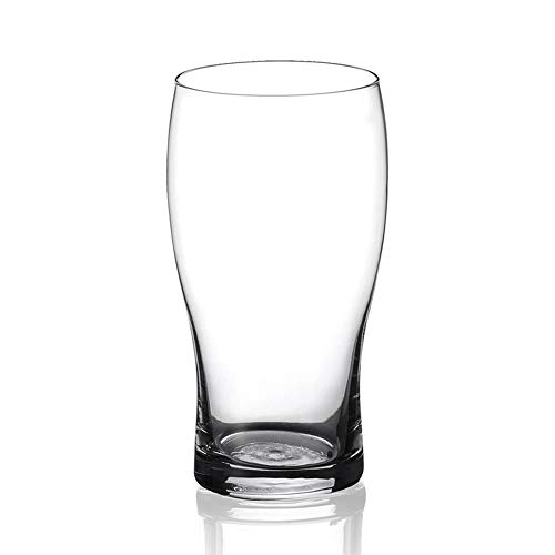 Amisglss Vasos de Cerveza Cristal, Vaso de Pinta para Bebida, Vaso de...