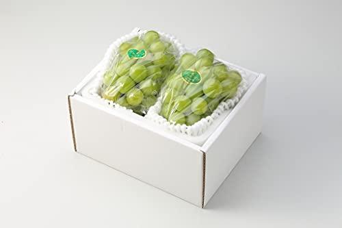 ぶどう 瀬戸ジャイアンツ 青秀 約500g×2房 岡山県産 JAおかやま 葡萄 ブドウ