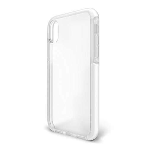 BodyGuardz - Ace Pro Case for iPhone Xs/iPhone X, Extreme Impact and Scratch Protection (Clear/White)