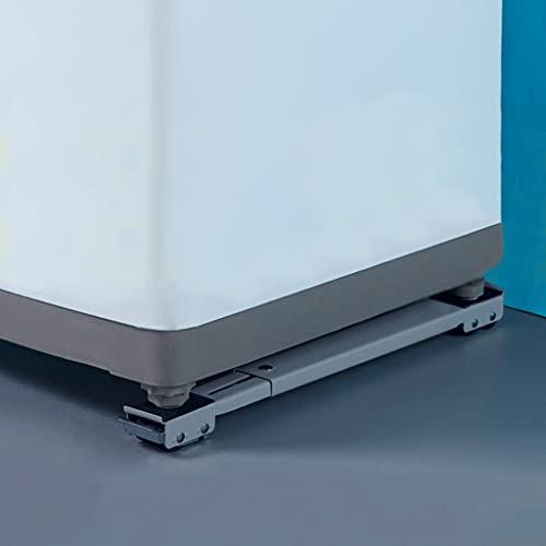YWSZJ Soporte de Lavadora Movible Ajustable Frigorífico Frigorífico Soporte de Rodillo móvil 24 Ruedas Lavadora Universal Secar (Color : B)
