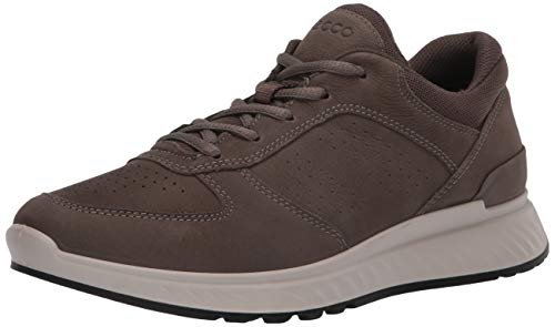 ECCO, Men's Exostride Outdoor Sneaker, Dark Clay, 43 (9-9.5 M US)