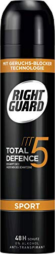 Right Guard Total Defence 5 Sport, 6er Pack (6 x 250 ml)