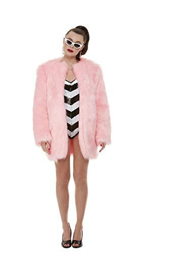 Smiffys Officially Licensed Barbie Limited Edition 60th Anniversary Costume Disfraz oficial edición limitada del 60 aniversario, color blanco y negro, L-UK Size 16-18 (48340L)
