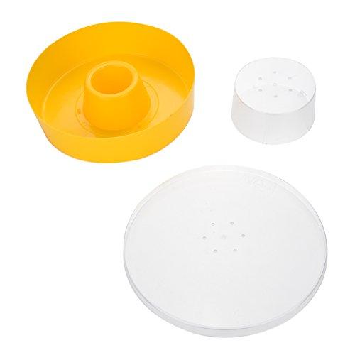 Alimentador de Agua de Abeja de Plástico Colmena Bebida Tazón de Abeja Equipo de Mantenimiento de Nido Entrada Herramienta de Apicultura