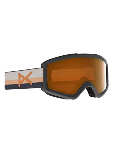 Anon Herren Helix 2.0 Snowboard Brille, Rising/Perceive Sunny Bronze
