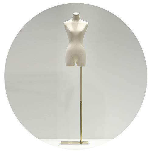 CHAXIA-Mannequins Buste De Couture Femme, Magasin De Vêtements Présentoir Couture Conception Accessoires Ajustable Mannequin Modèle, 3 Styles (Color : A)