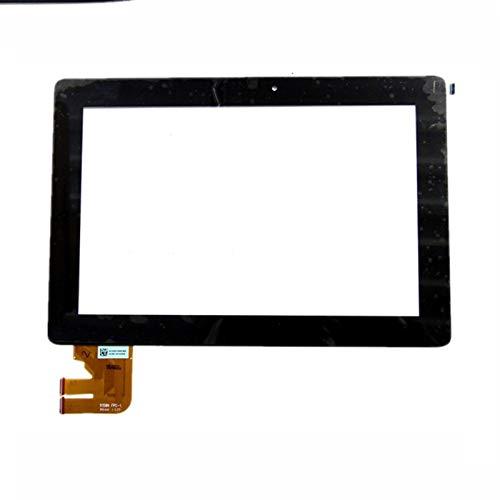 HUOGUOYIN Kit de reemplazo de Pantalla 10.1 '' Inch Fit para ASUS Transformer Pad tf300t tf300 5158n FPC-1 Touch Panel Digitalizador Kit de reparación de Pantalla de Repuesto (Color : Black)