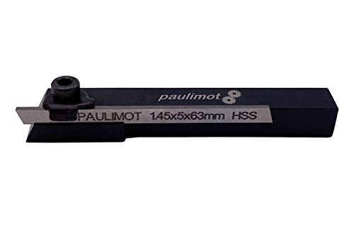 PAULIMOT Mini-Abstechstahlhalter 10 x 10 x 80 mm