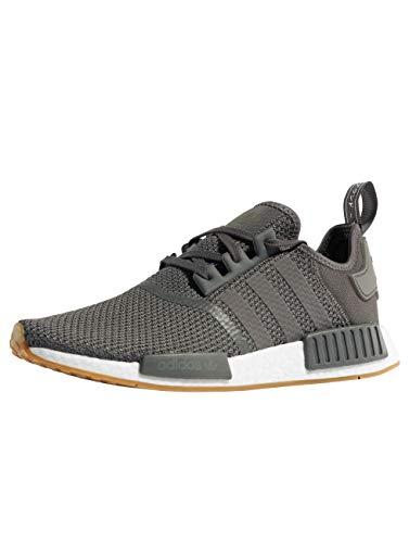 adidas Herren NMD_R1 Gymnastikschuhe, Grau(Grey Five/Grey Five/Core Black), 45 1/3 EU