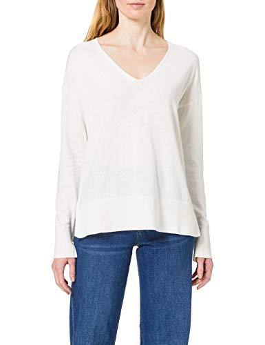 ESPRIT Damen 120EE1I325 Pullover, 110/OFF White, XL