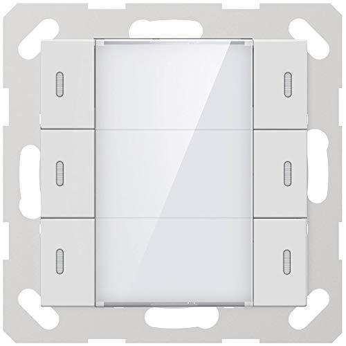 GVS KNX Multifunktions-Tastsensor Advance+, 3-Fach glänzend - ADV-06/02.2.00 Ink