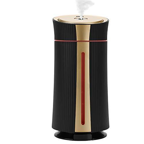 Ultraschall Luftbefeuchter 1100ml, Lyeiaa USB Air Humidifier mit 7 Farben LED, Leise 20dB Aroma Diffuser Diffusor Raumbefeuchter Kinderzimmer Baby Schlafzimmer, Automatische Ausschaltung