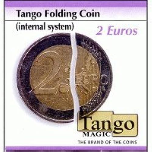 Faltmünze 2 Euro (internes System)