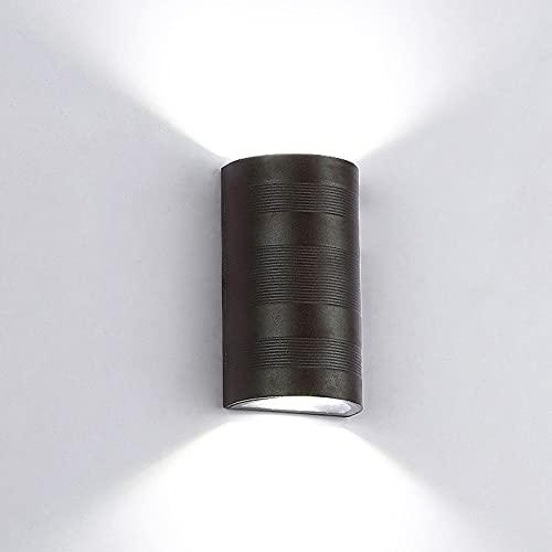 Led De Pared De Dormitorio Lámpara De Pared Moda Estudio Pared Moderno Corredor Hermoso Entrada 6W 10W Led Lámpara De Pared A Prueba De Agua Exterior E Interior De Doble Uso Lámparas Y Linternas Si