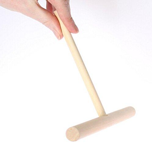 Autentico legno francese Stendi Pastella Per Crepes In Spatola 19cm by RIVENBERT