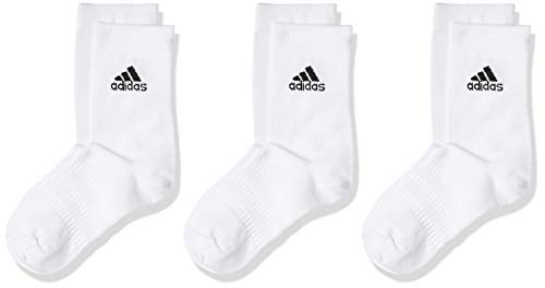 adidas Light Crew 3pp Calcetines, Unisex Adulto, White/White