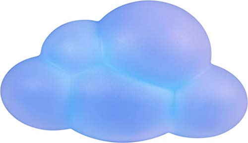 Lumin'us Nuvola - Altavoz Luminoso con 9 Variantes de Color, luz Nocturna, máximo 15 W, Multicolor