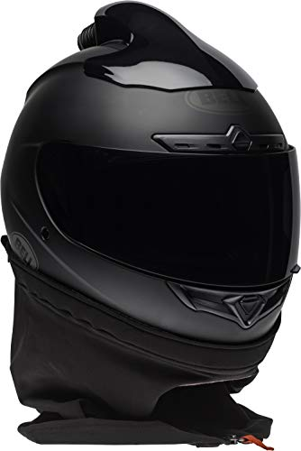 Bell Qualifier DLX Forced Air Helmet (Matte Black, Medium)