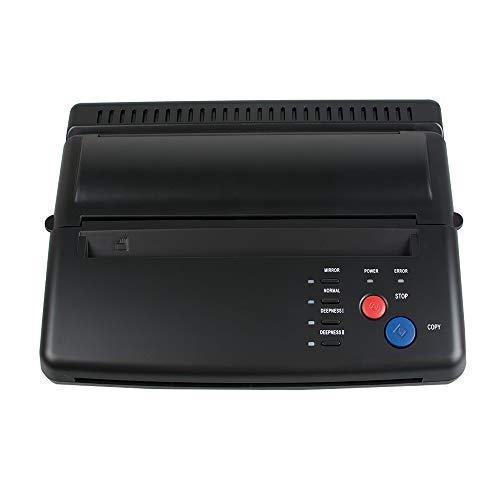 Tattoo Stencil Printer Pro Tattoo Transfer Copier Fast Transfer Speed Thermal Stencil Paper Maker Low Noise Black