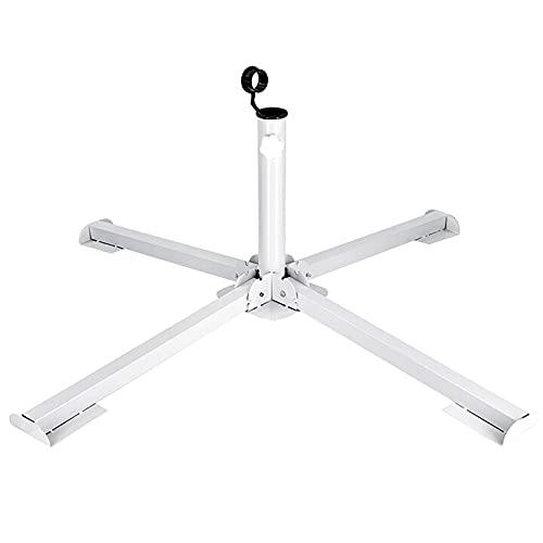 MILIMOLI Portable Foldable Beach Stand - Outdoor Sunshade Anchor - Adjustable Patio Umbrella Base Holder - Rust Free Umbrella Base - Tempered Iron Patio Umbrella Stand