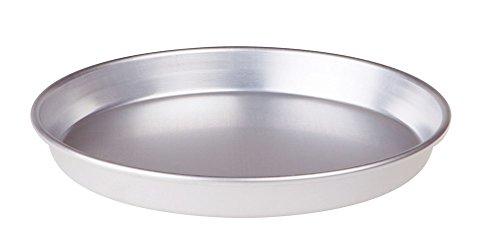 Pentole Agnelli, FAMA43/314, Tortiera Conica con Orlo, Alluminio, 14 X 14 X 3 cm