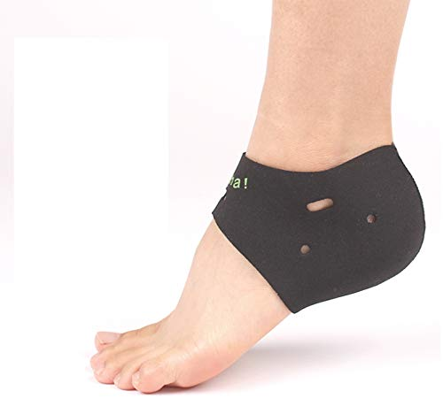 (3 pair) Neoprene Foot Pads for exfoliation of the feet Corn & Callus Remover Cushions/Foot Peel Mask Corn Remover Callous Removers For Feet Heel Protectors Cracked Heel Treatment