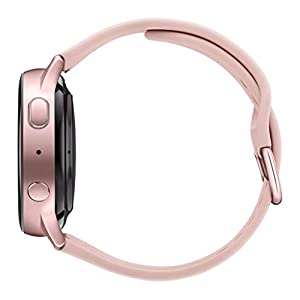 Samsung Galaxy Watch Active2 W/ Enhanced Sleep Tracking Analysis, Auto Workout Tracking, and Pace Coaching (40mm, GPS, Bluetooth, Wifi), Pink Gold - US Version with Warranty