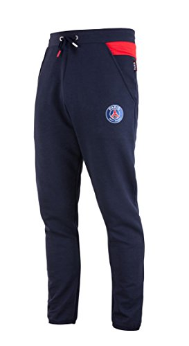 Paris Saint-Germain Herren-Hose, Molton, PSG, offizielle Kollektion, Herrengröße XL blau