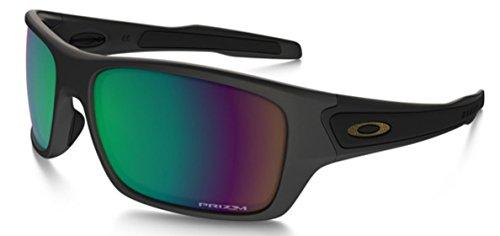 Oakley Turbine OO9263 Sunglasses - Prizm Shallow H2O Polarized lens Matte Black (25) - 65mm