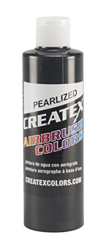 Createx Colors Paint for Airbrush, 8 oz, Pearl Black by Createx Colors