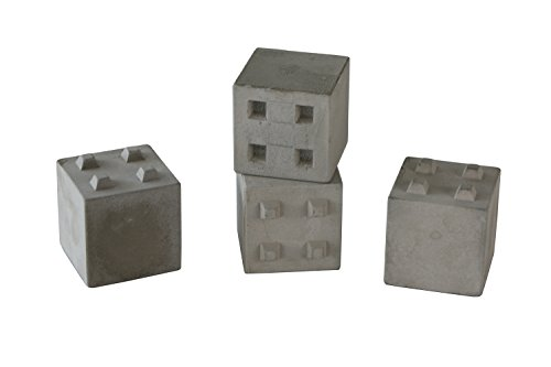 Heli de bolsillos bloques de hormigón, hormigón piedras Juego de 4 Calles Diseño y diseño de interfaz Parcour Modelo Diseño 1: 14