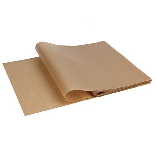 ISIYINER Papel de Hornear 100 Piezas Baking Paper Antiadherente Parchment para Cocinar Galletas 30 * 40CM