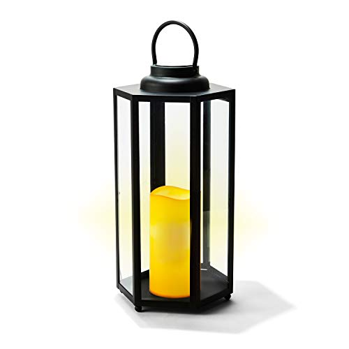 LampLust Solar Candle Lantern