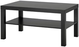 comprar comparacion Ikea Falta - Mesa de Centro, Negro-marrón - 90x55 cm