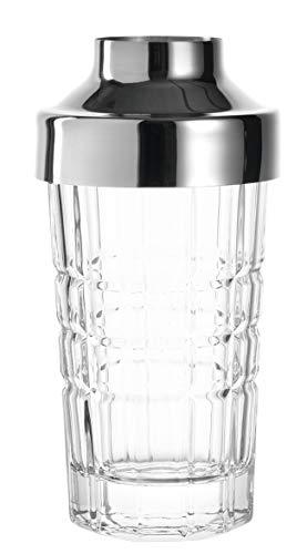 LEONARDO HOME 022763 Spiritii Snackspender, 200 ml, Klarglas und Edelstahl, H 15,5 cm