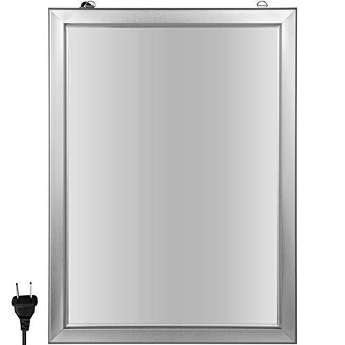 VEVOR Pubblicità del Display a LED da 46,81x33,11 Pollici Cornice per Porta Luce
