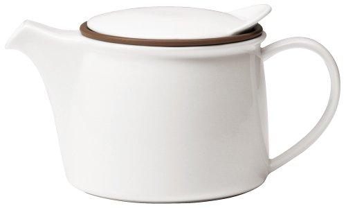 Kinto Brim Tea Pot 450ml White