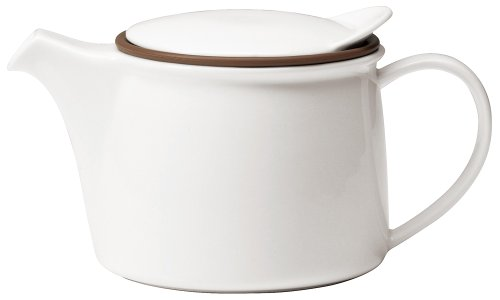 Kinto Brim Tea Pot 450ml White