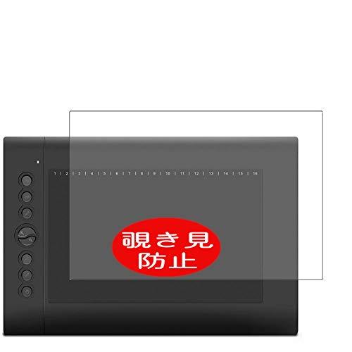 VacFun Pellicola Privacy, Compatibile con HUION H610PRO / H610 PRO Pen Tablet (Non Vetro Temperato) Protezioni Schermo Cover Custodia