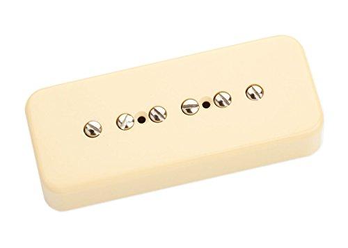 Seymour Duncan SP90-1N-C Serie P90 micro de la vendimia de la guitarra eléctrica blanca