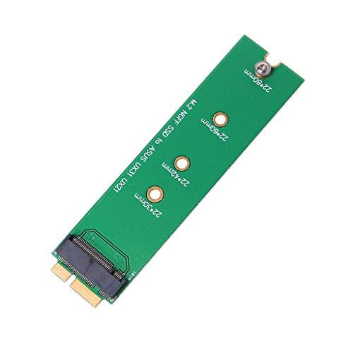 Ontracker - Tarjeta SSD M.2 NGFF a adaptador Blade de 18 pines para Asus UX31 UX21 Zenbook SD5SE2 XM11