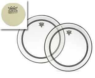 Remo Powerstroke P3 Clear Bass Drumhead, 22'