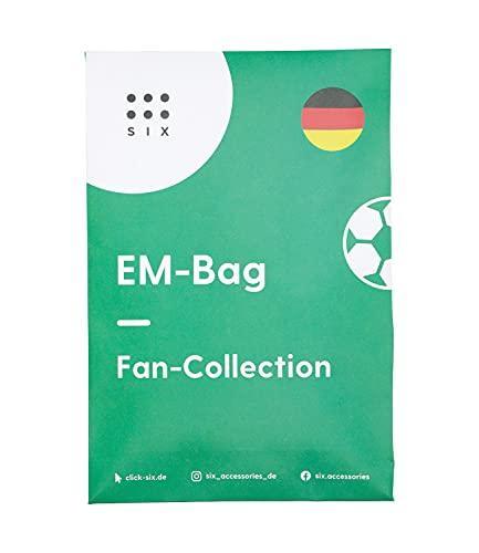 SIX Fan Bag Footall EM 388-367 - Bolsa de fútbol, diseño de la selección alemana de fútbol 2021