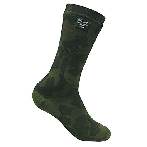 Dexshell Aktivität Camo Socke, Olive, EU 43-46