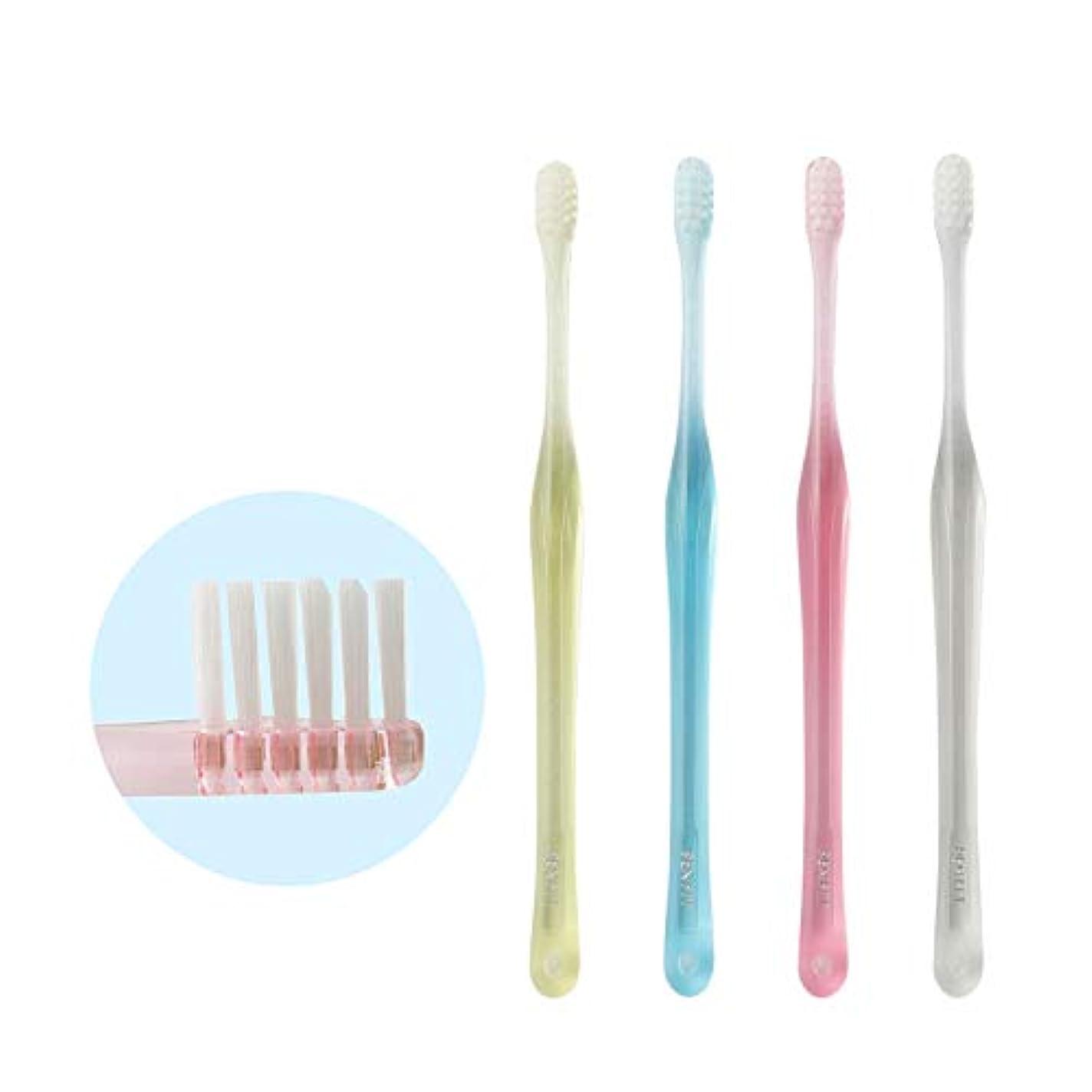 まだらガウンスプーンペンフィット PENFIT 歯ブラシ 4本 アソート