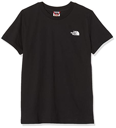 The North Face Youthsimple Dome, T-Shirt Unisex-Bambini, TNF Black/TNF White, L (155-165 cm)