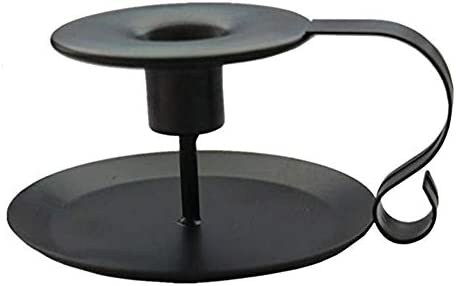 PTINBG Retro Wrought Iron Candle Holders Wrought Iron Taper Candle Holder Simple Candlestick product image